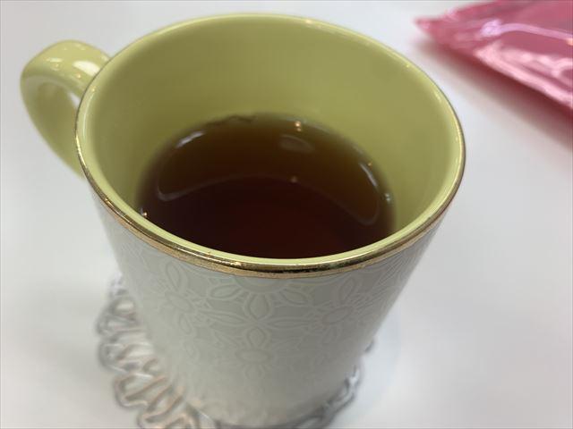 マルコで出たお茶